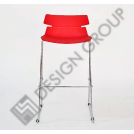 Бар стол WDG 602 червен