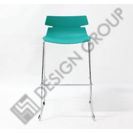 Бар стол WDG - 602 - син