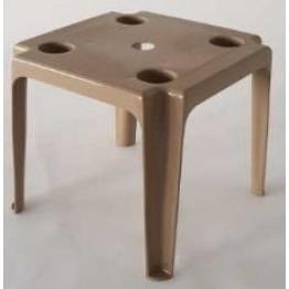 Малка маса за шезлонг - капучино