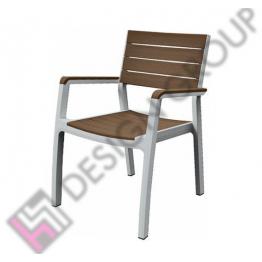 Стол с подл. DGA11 - бяло/капучино