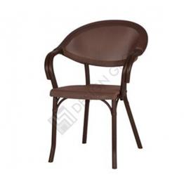 Стол с подл. PP903 - кафяв/кафяв