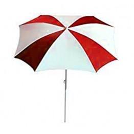 Чадър DG A18 ф200см - бяло и червено