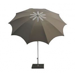 Чадър DG A27 ф200см - сив - с чупещо рамо
