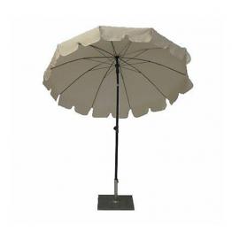 Чадър DG A84 ф200см - екрю - с чупещо рамо