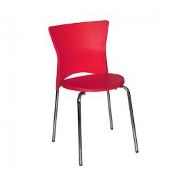 Стол ISIS E548 - червен