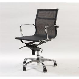 Офис стол S602 - черен