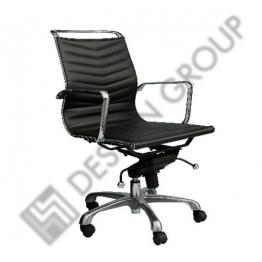 Офис стол S6819 - черен