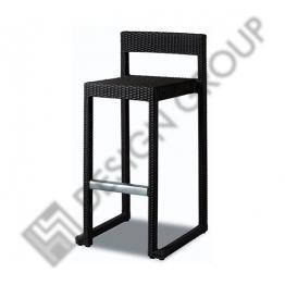 Бар стол CM8537 - черни възли