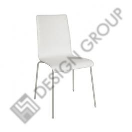 Стол M553 - бяла кожа