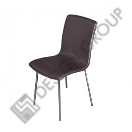 Стол M553 - кафява кожа