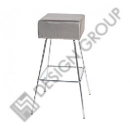 Бар стол М-106 сребрист