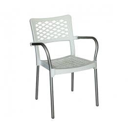 Стол с подл. BELLA - бял