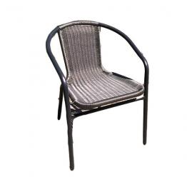 Стол B653 сребрист