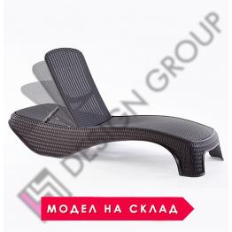 Шезлонг DGA 09 - т. кафяв