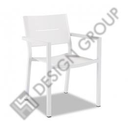 Стол с подл. L818 - Бял