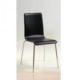 Стол LILLY KD 3202 черна кожа