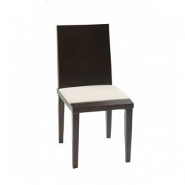 Стол SIDONIA венге, сл.кост кожа