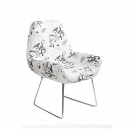 Стол B107 бяло и черно