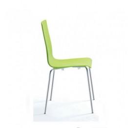 Стол LILLY POLYMER 3457 зелен