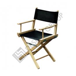 Стол REGISTA P - натурал, черен PVC