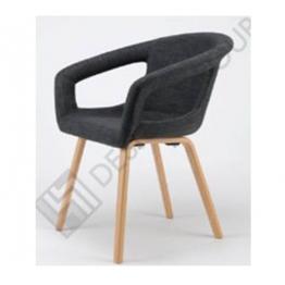 Стол с подл. WDG - 002S - тапициран, т.сив
